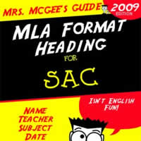 mla format for research papers